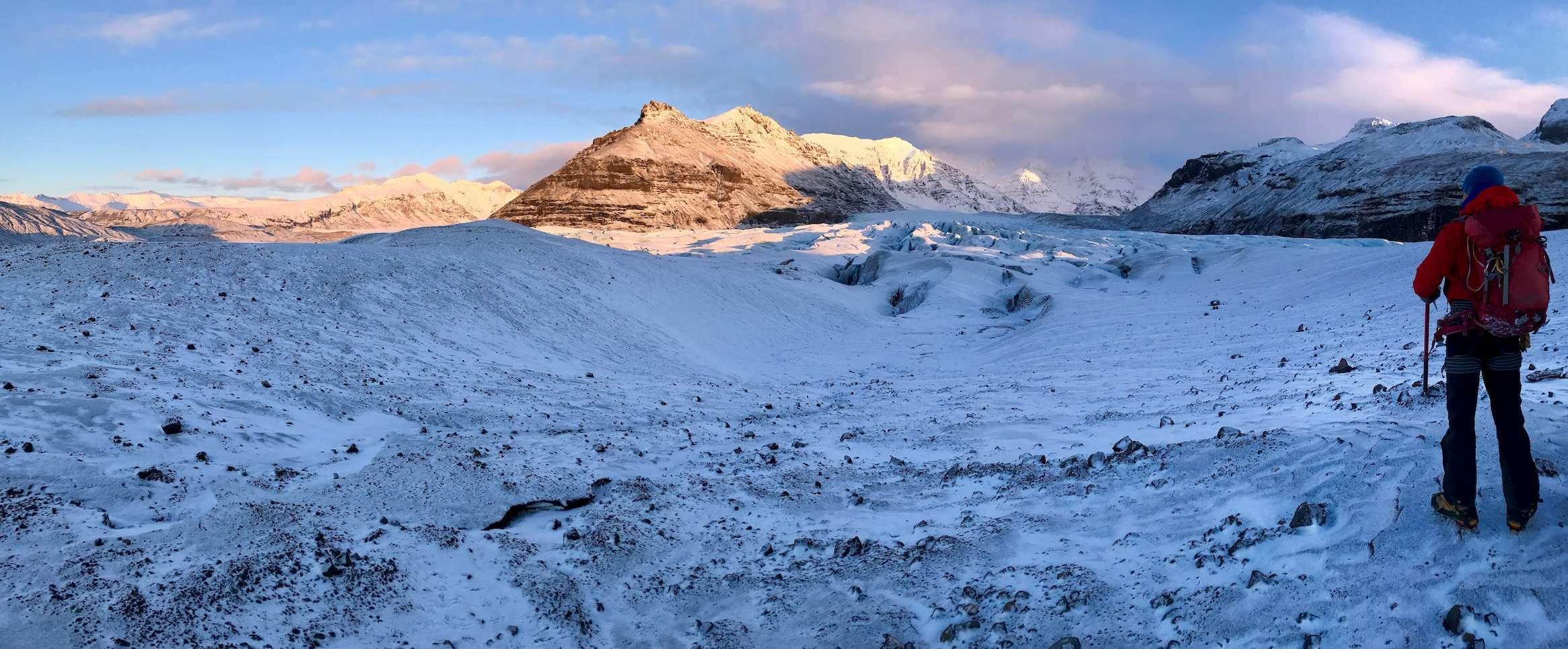 iceland glacier hike ready