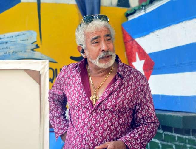 Salvador Gonzales in Havana, Cuba
