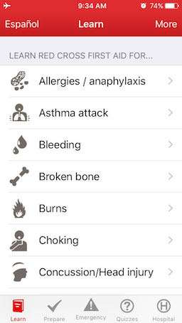 Best travel apps First Aid