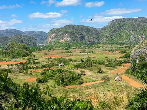 Mogotes mountains Vinales Cuba