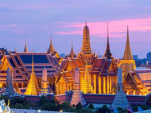 Wat Phra Kaew Temple Emerald Buddha Bangkok Thailand itinerary
