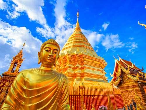 Wat Phra That Doi Suthep Chiang Mai Thailand