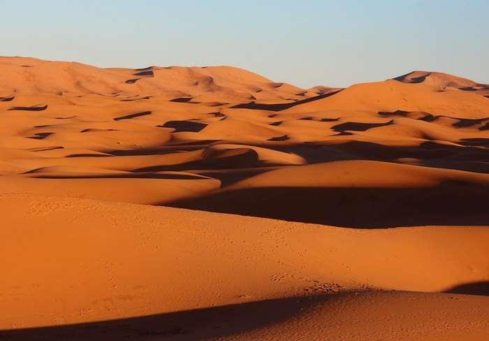 Sahara Desert near Merzouga Morocco