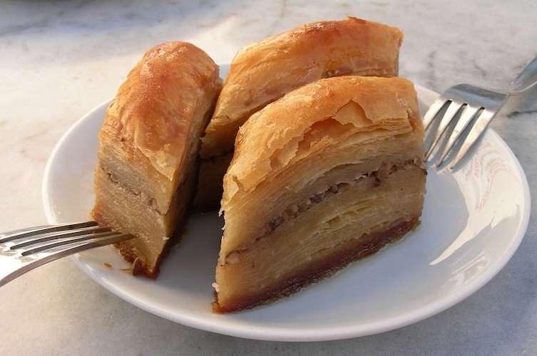 Baklava traditional Greek food