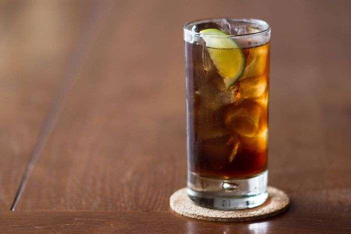 Cuba libre traditional Cuban drink