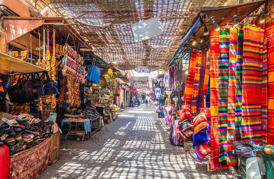 Jemaa el Fnaa souk Marrakech