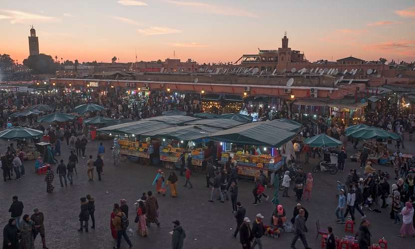 Jemma el Fnaa medina Marrakech Morocco