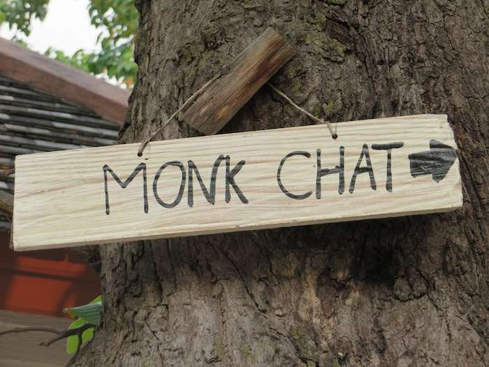 Monk chat sign