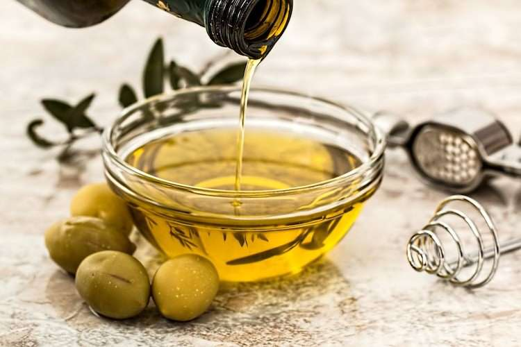 Olive oil Greek food