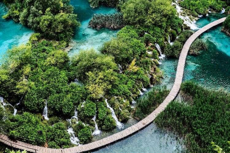 Plitvice lakes day excursion Split Croatia