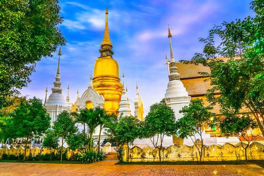 Wat Suan Dok Chiang Mai Thailand