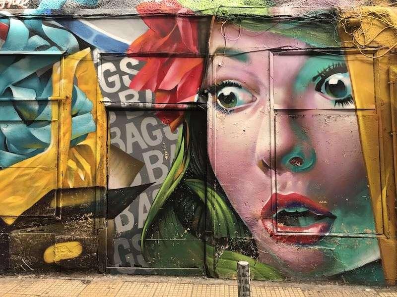 Athens graffiti street art Greece