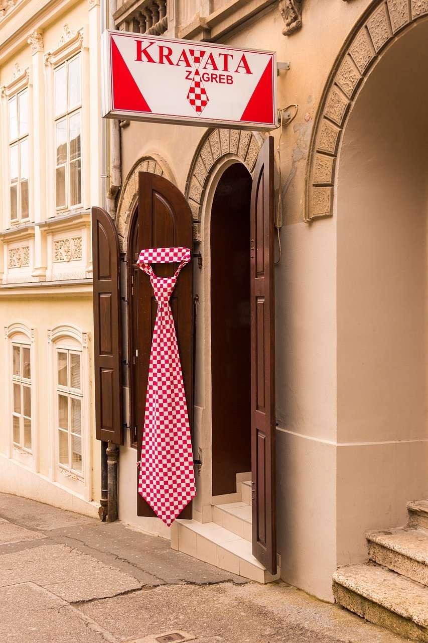 Croatia cravat Zagreb