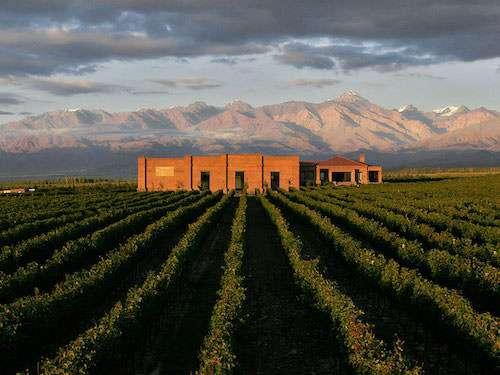Andeluna winery Mendoza Argentina itinerary