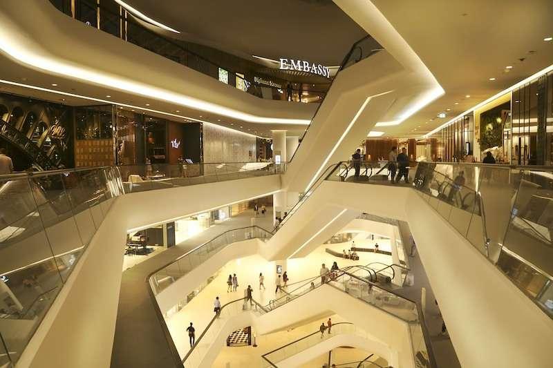 Central embassy mall Bangkok Thailand