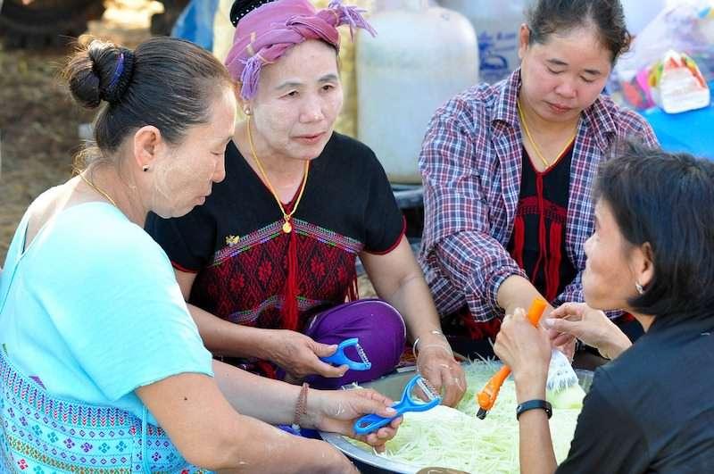Friendly Thai people