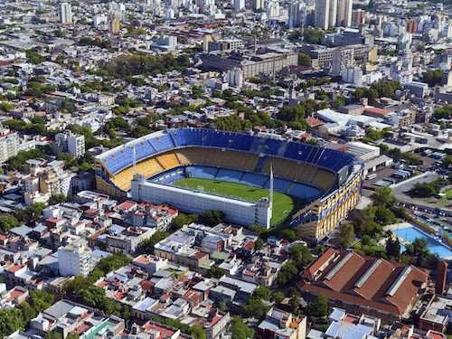 La Boca stadium Buenos Aires Argentina itinerary