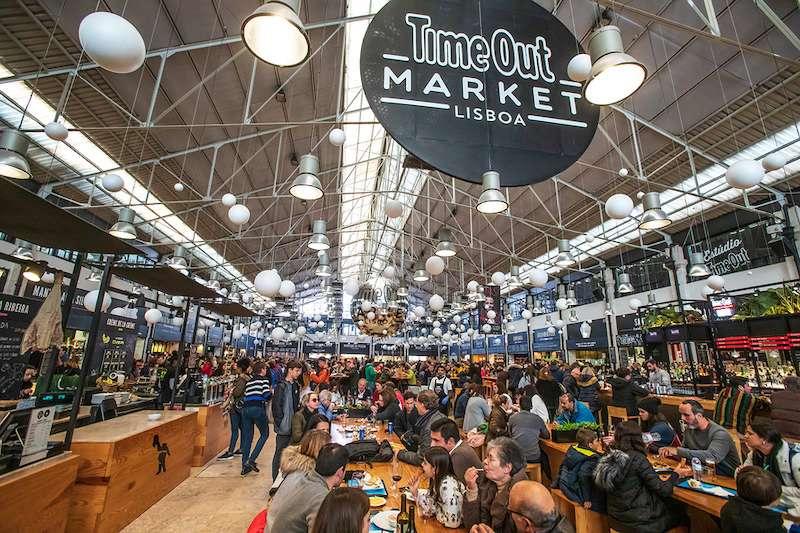Time out market Lisbon Portugal