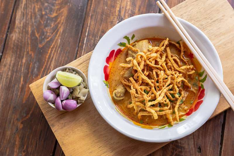 Traditional Thai spicy dish