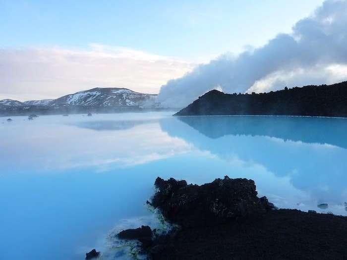 Blue Lagoon outside entrance Iceland
