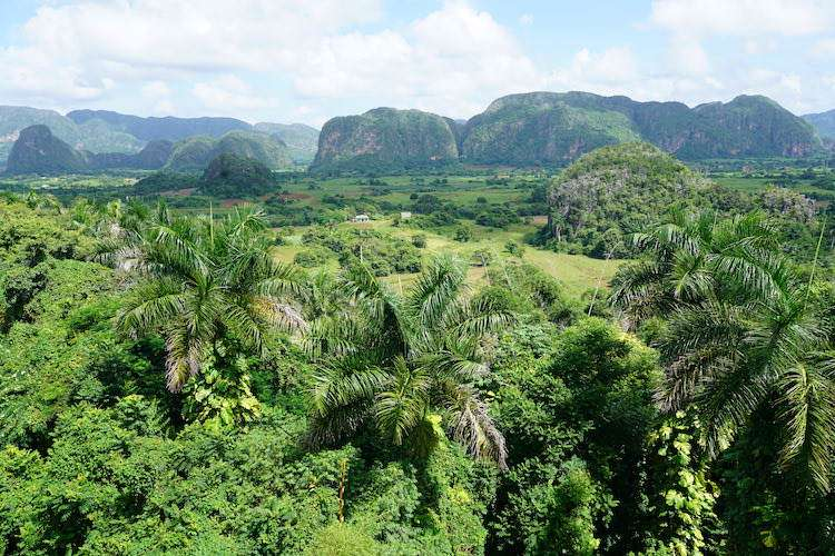 Vinales Valley is so green