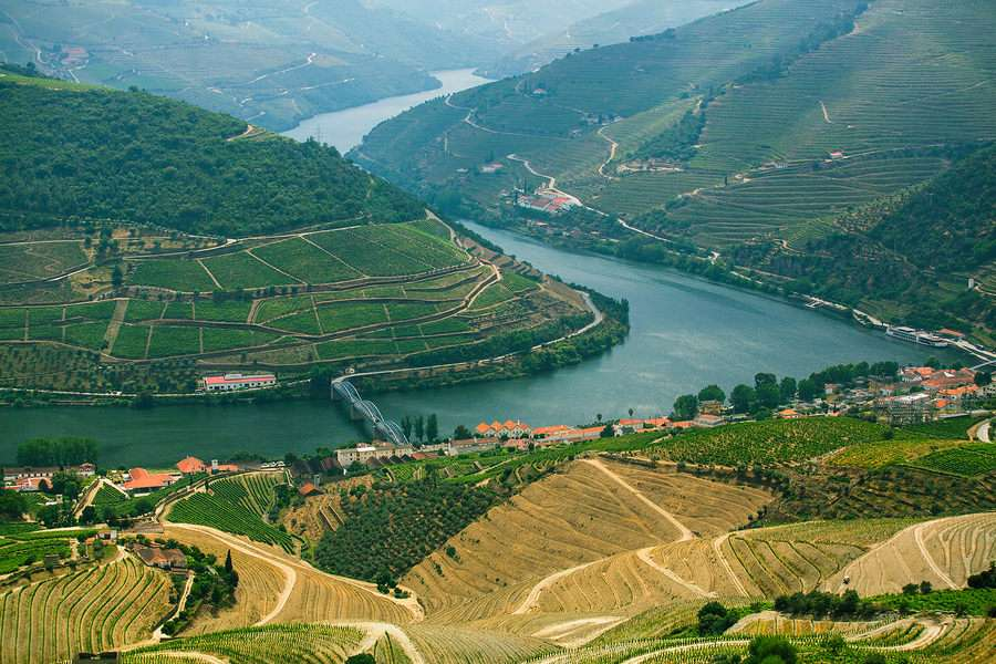 Douro Valley river Portugal