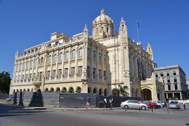 Revolution museum Havana Cuba