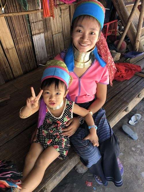 Local villagers of the Mae Hong Son villages