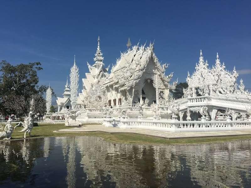 White temple of Chiang Rai