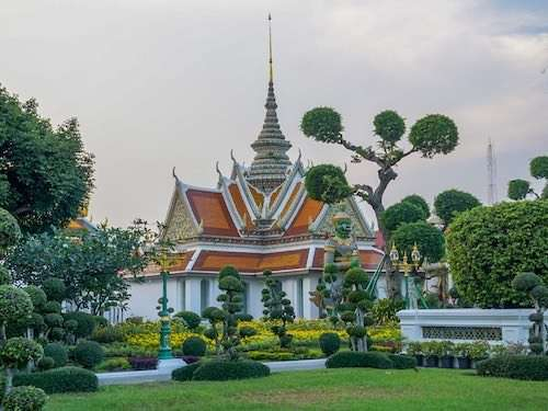 Cute Bangkok temple