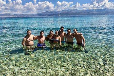 Group photo from our Croatia trip