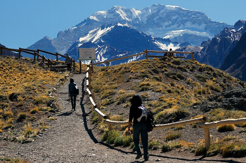 Hiking in Parque Provincial Aconcagua