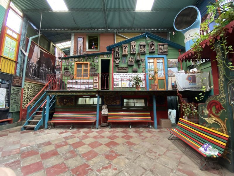 Artist studio along Caminito street