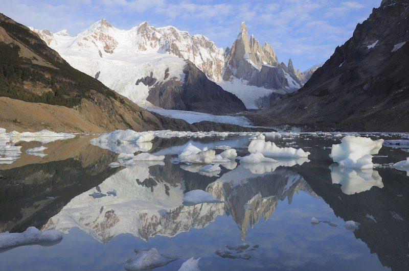 Cerro Torre icebergs Patagonia Argentina