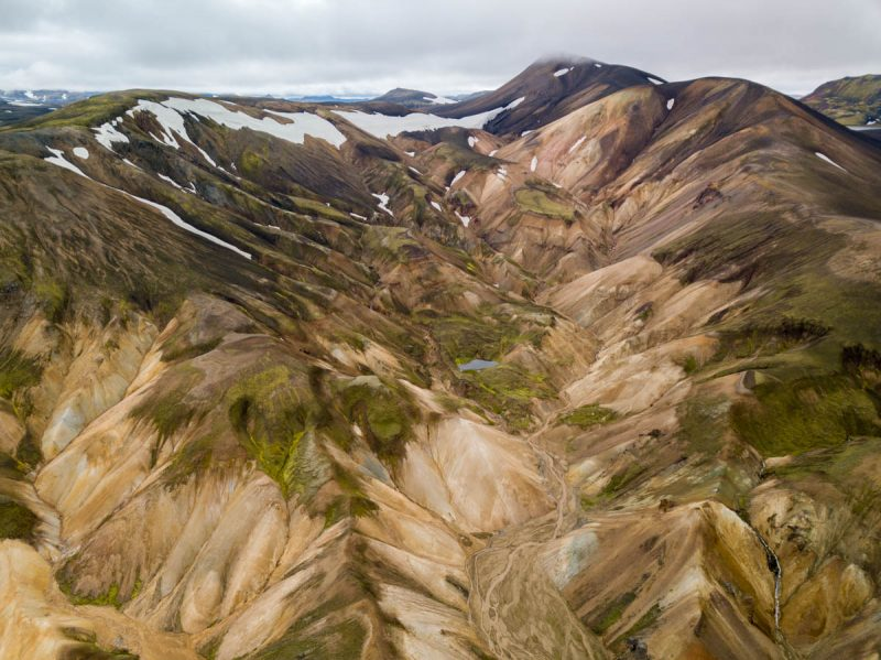 Highlands of Landmannalaugar Iceland