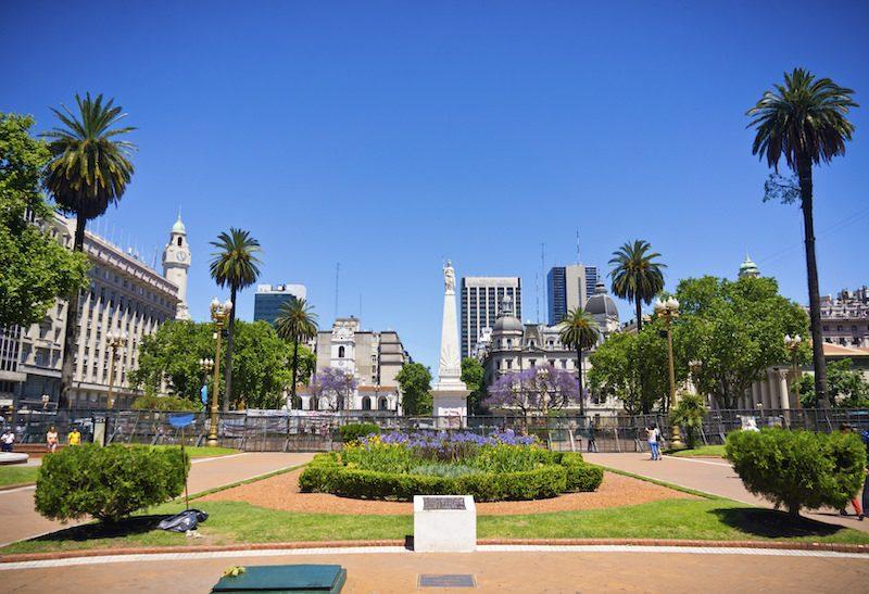 Obelisco square Buenos Aires Argentina