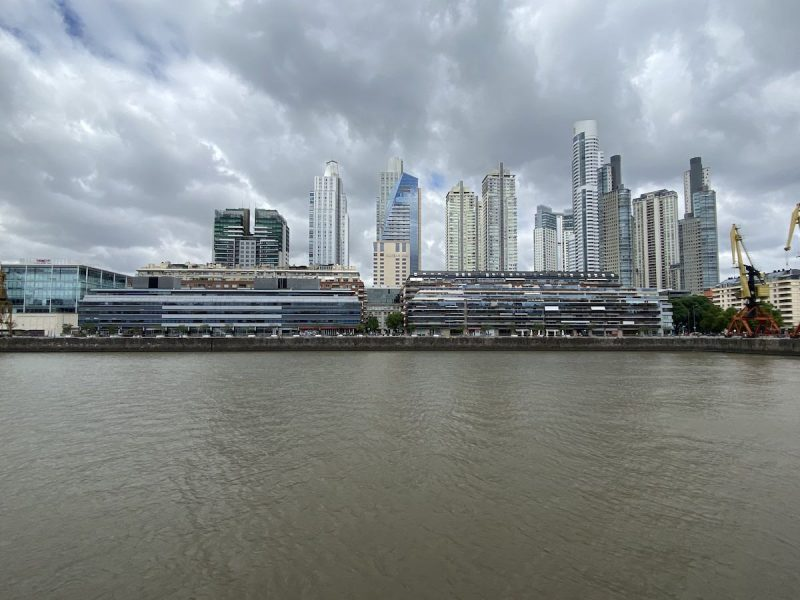 Puerto Madero neighborhood in Buenos Aires
