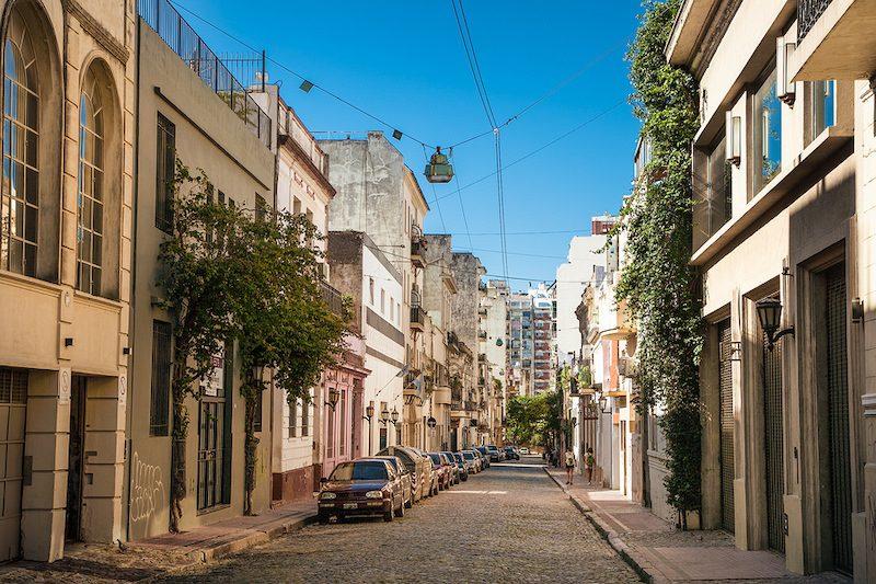 San Telmo district Buenos Aires Argentina