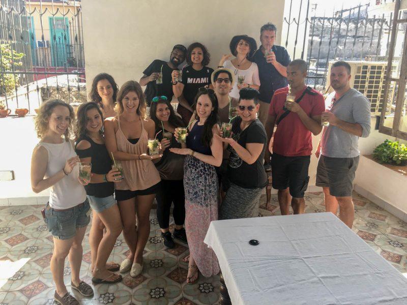 Mojitos in Trinidad Cuba